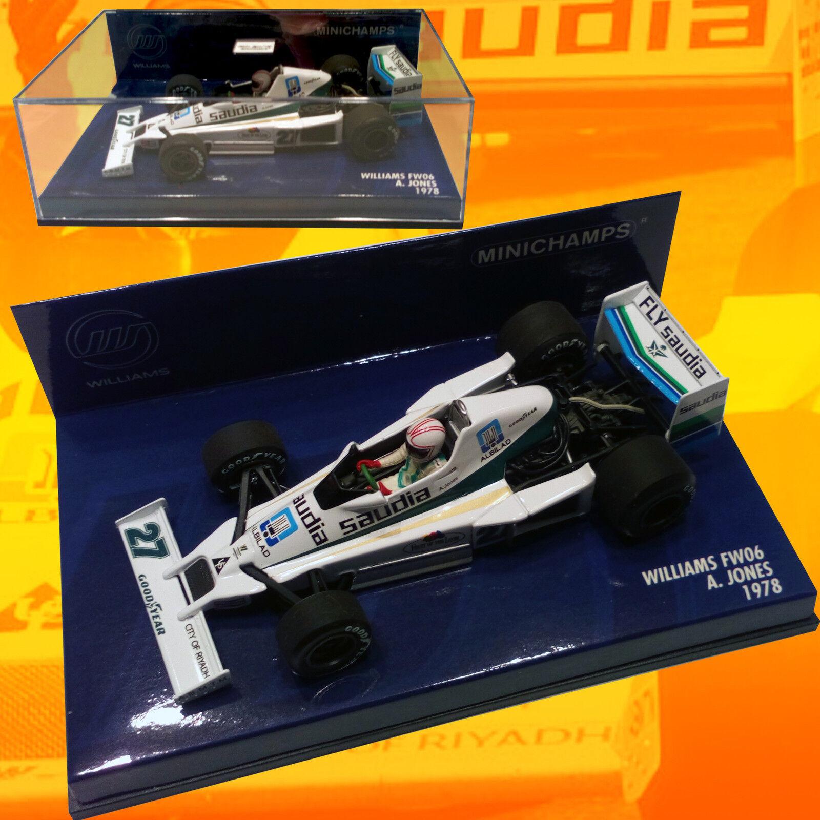 129) Minichamps - Williams FW06 Alan Jones 1978 - Sold out