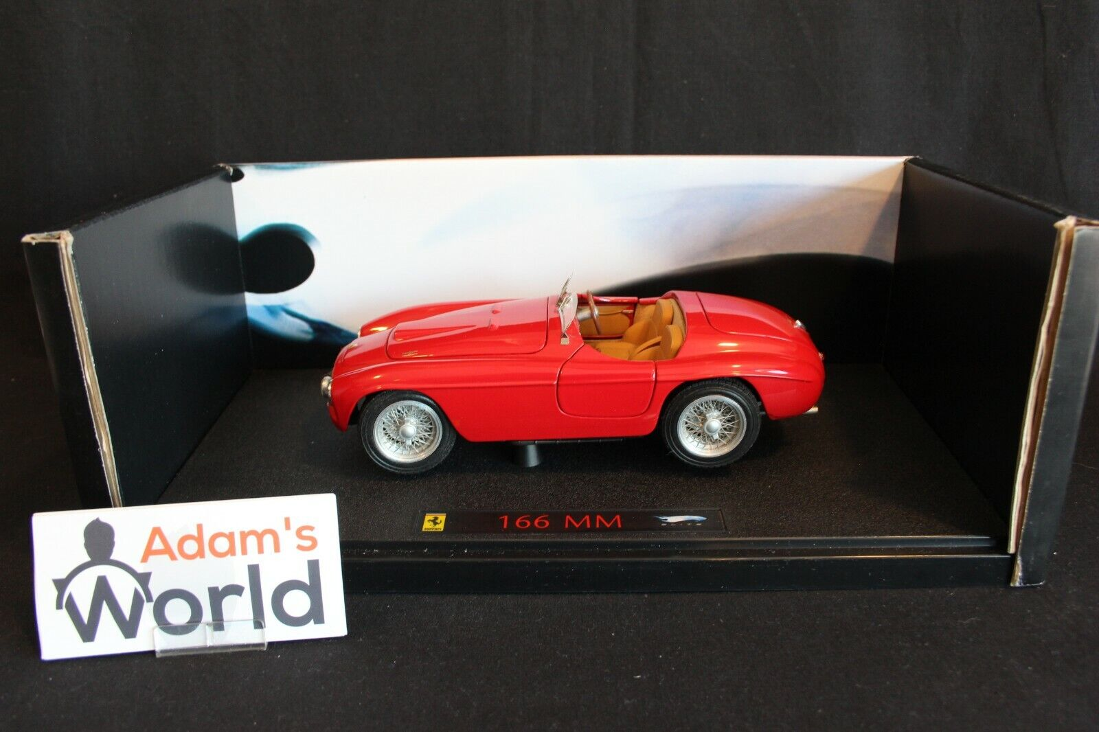 Hot Wheels Elite Ferrari 166 MM 1 18 red (PJBB)