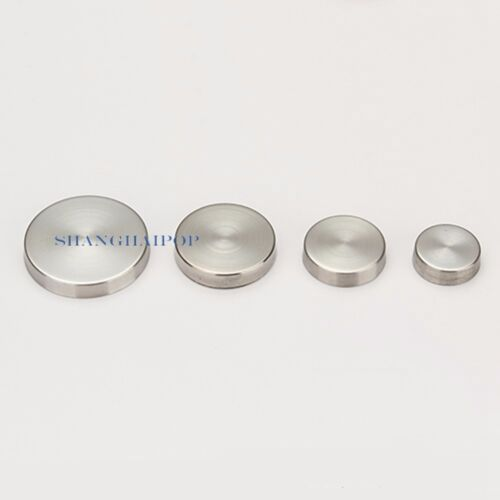 20 X Stainless Steel Mirror Nail Screw Cap Advertisement 16-30mm Decorative New