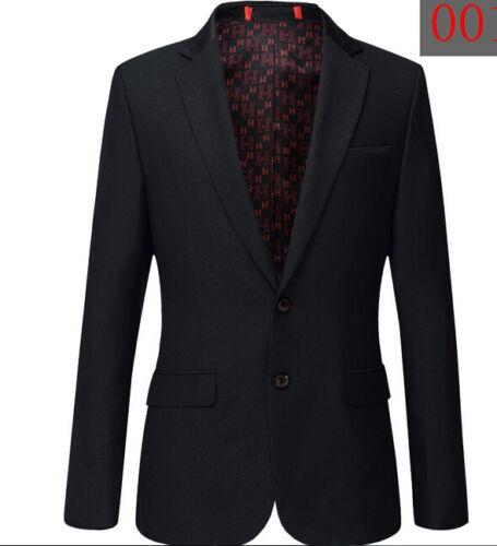Abito Uomo Elegante Completo Pantalone Vestito Slim 1025 Scuro Giacca CgwzqBx