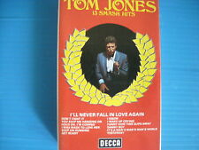 TOM JONES 13 SMASH HITS MUSICASSETTA TAPE K7 ORIGINALS PERFECT LOOK