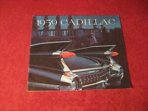 1959-Cadillac-Sales-Brochure-Old-Original-Booklet-Book-Catalog