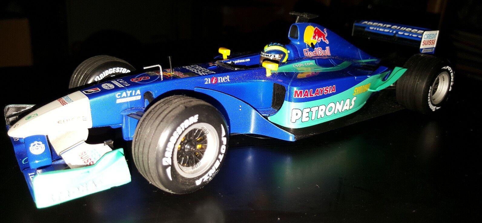 MINICHAMPS PMA propre-Petronas c21 2002  Felipe Massa  1 18