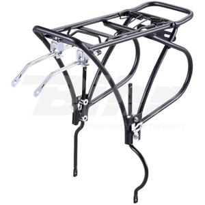 15329 Portabagagli posteriore bici 26 -28  in alluminio color black