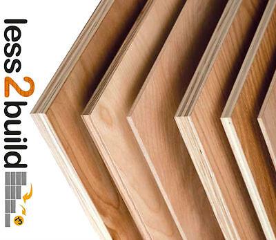 Hardwood Plywood-Superior Grade Hardwood WBP Sheets Select Size & Thickness