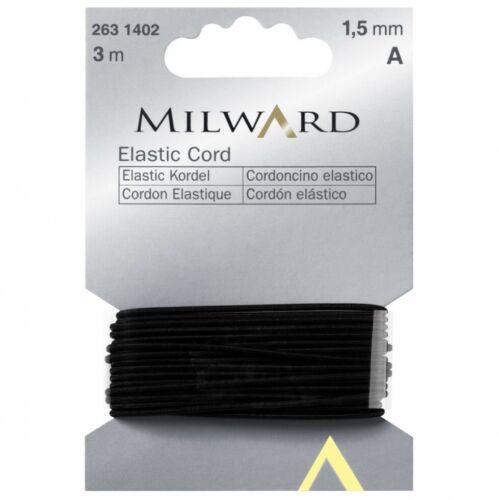 Milward Cuerda Elástica-Negro