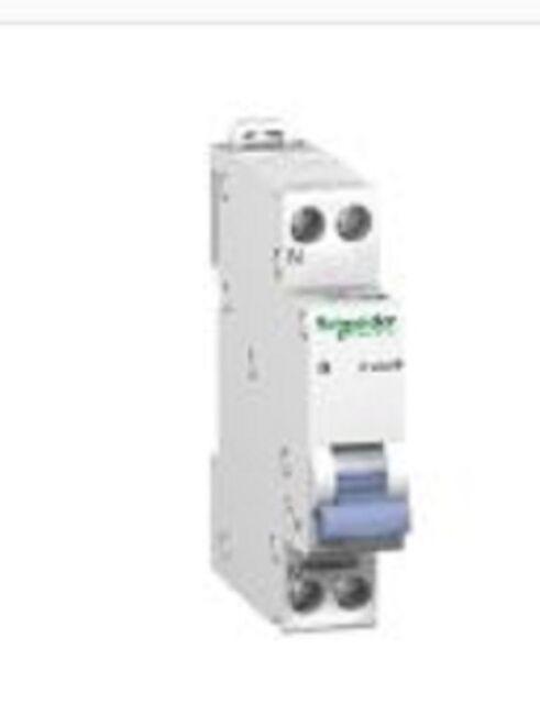 Disjoncteur 1P+N-C32A -230v Schneider  20729