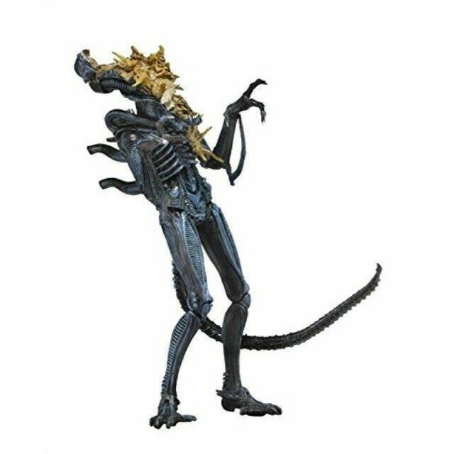 Aliens Battle Damaged Alien Action Figure Xenomorph Blue Neca