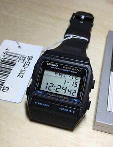 rare-vintage-casio-DB-55W-DB-55-50-Data-Bank-Tele-memo-Watch-NOS-NEW-Japan