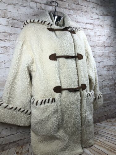 vintage J Percy Marvin Richards womens OSXS sherpa