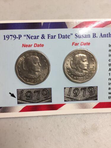 "ANTHONY DOLLARS *RARE* 1979-P /""NEAR /& FAR DATE/"" SUSAN B"