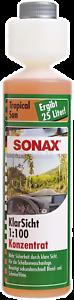 SONAX-03871410-KlarSicht-1-100-Konzentrat-Tropical-Sun-250-ml