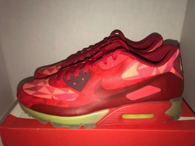 Nike Air Max 90 Ice Gym Red Le Size 11.5 Deadstock
