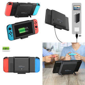 check out 3624c fb0f9 Details about For Nintendo Switch Battery Case 5800Mah Portable Charger  Pack Travel Power Bank