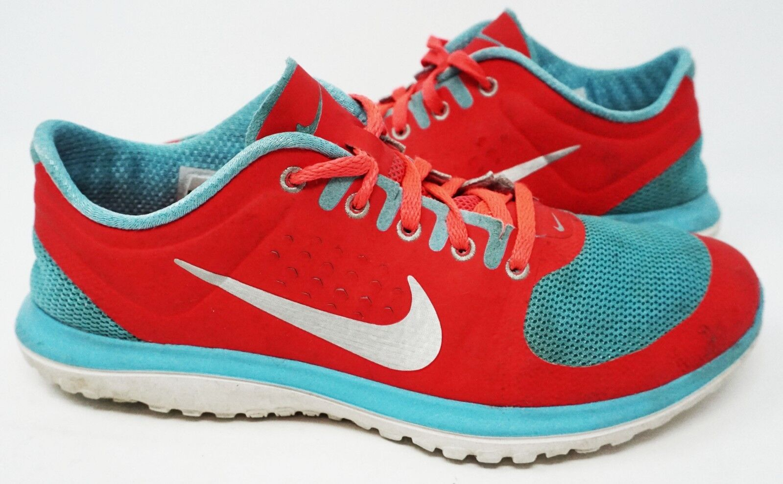 NIKE FS LITE RUN WOMEN'S RUNNING SHOE S50 (CRIMSON/BLUE/WHITE) SZ 6M SHIPS FREE S50 SHOE 1f14ea