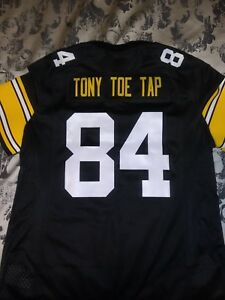 newest collection a3ef8 a4b3e Details about NEW Steelers women's custom Antonio Brown jersey. Sz LG
