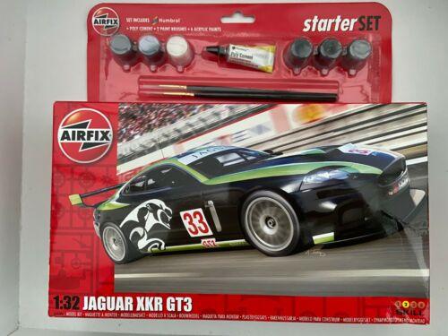 AIRFIX A55306 JAGUAR XKR GT3 1//32 Kit-Neuf