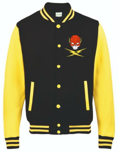 5XL The Flash Hoodie or Varsity Jacket Small