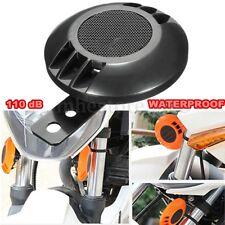 12V Waterproof Loud 110 dB 430HZ Universal Motorcycle Car Bike Snail Horn Black