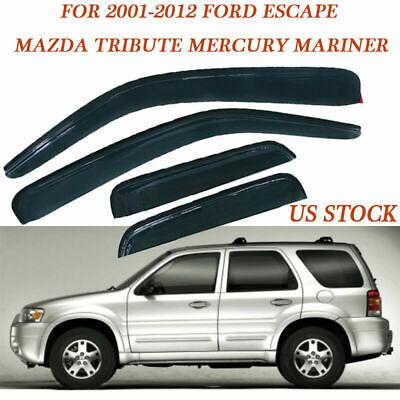 For Mazda Tribute For Mercury Mariner Ford Escape Window Visor Sun Rain Guards
