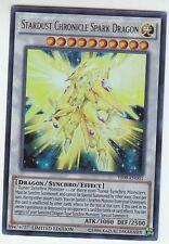 YU-GI-OH Stardust Chronicle Spark Dragon Ultra Rare YF09-EN01 PROMO Sternenstaub