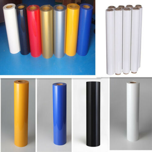 White PVC Heat Transfer Vinyl for Tshirts HTV Heat Press Machine Sticker