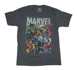 Marvel-Comics-Avengers-Defenders-Doctor-Strange-Iron-Fist-Luke-Cage-Mens-T-Shirt