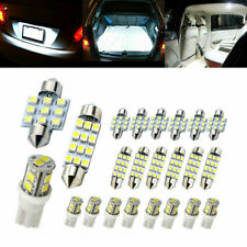 20x 6000k Led Interior Lights Bulbs Kit Dome License Plate Lamps Car Accessories