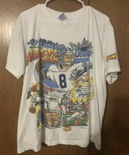 XL Salem Sportswear Dallas Cowboys Comic Shirt