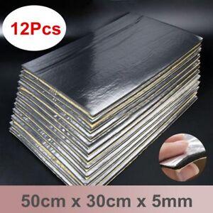 12Pcs-14-039-039-x20-039-039-5mm-Sound-Deadener-Car-Heat-Shield-Insulation-Deadening-UK