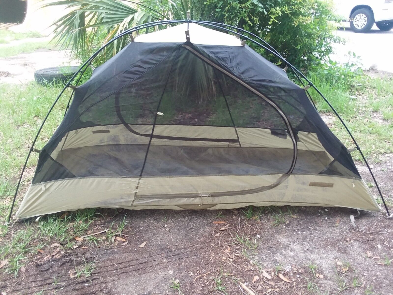 Litefighter Full Spectrum 1- One Man Combat Shelter/Tent Coyote Tan GRADE 3 FAIR
