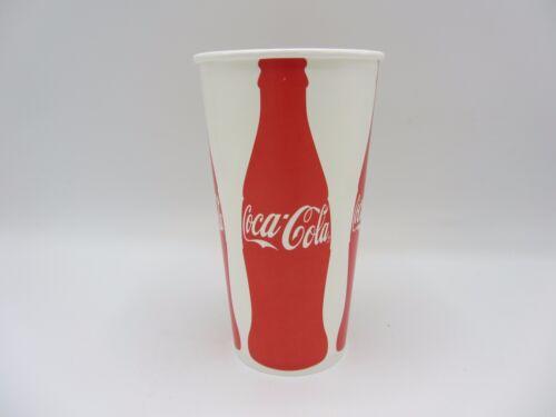 LOT OF 40 NEW VINTAGE 32oz 32 OUNCE COCA COLA WAX PAPER CUPS W COKE BOTTLE LOGO