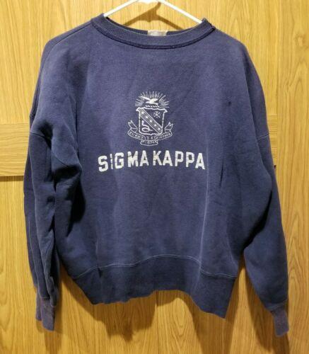 Vintage 50's Champion Sweatshirt Sigma Kappa Soror