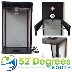 Biltong-Maker-Box-Back-Grey-Panel-Beef-Jerky-Dehydrator-Spice-FREE-Spice