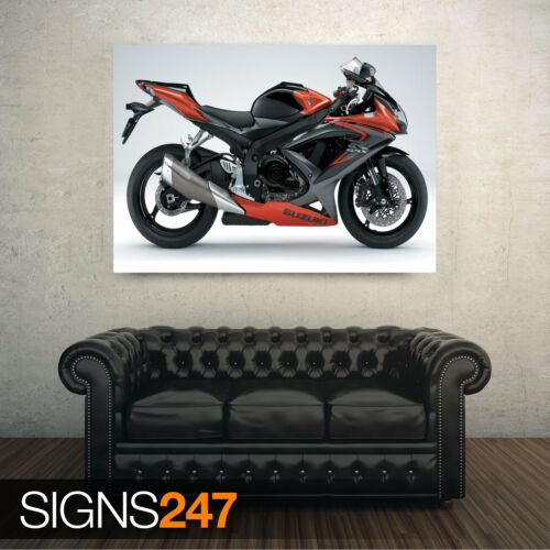 Motorbike Poster 1592 Photo Poster Print Art A0 A1 A2 A3 A4 SUZUKI GSX R750