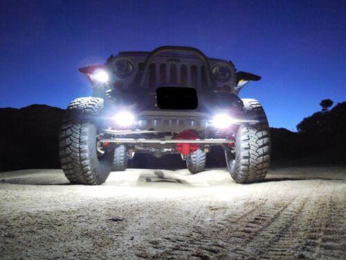 Fits Jeep TJ Wrangler 2000 Rock Light Switch Kit and LED Rock Lights NEW ITEM