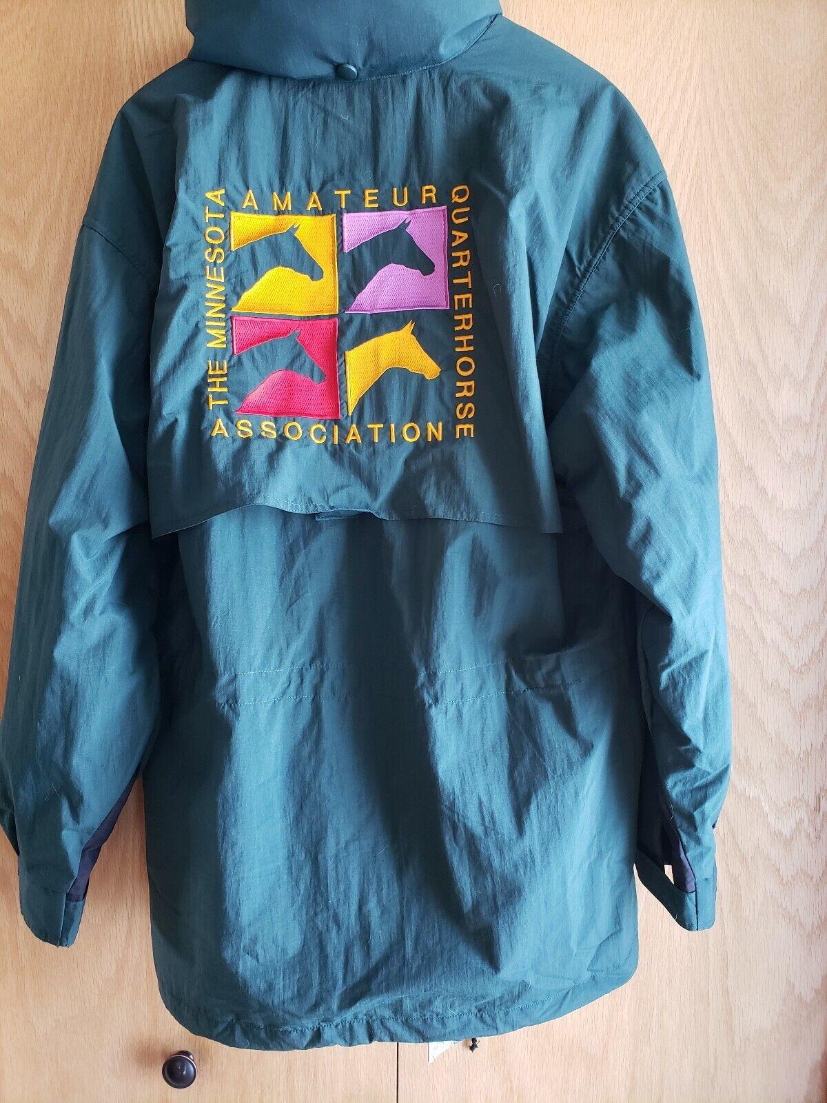 NWT  Tri Mountain MAQHA MQHA Coat  Size Large  Minnesota Quarter Horse  aqha