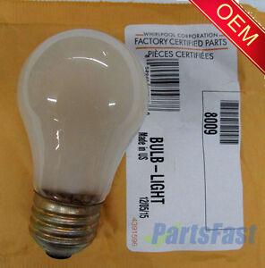 Whirlpool 40W Appliance Light Bulb 8009 NEW
