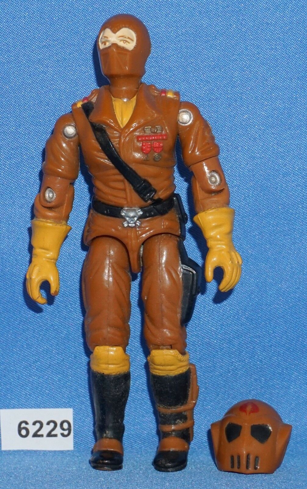 1987 W.O.R.M.S. Cobra Maggot Driver GI Joe Joe Joe 3 3 4 inch Figure 870ed1