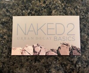 Urban-Decay-Naked-2-Basics-Eyeshadow-Palette-New-In-Box-Free-Shipping