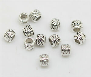 250-PCS-3-5-MM-Antiqued-Silver-delicate-Metal-Loose-Spacer-Beads-Diy-Accessories