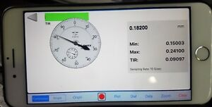 Motionics Wireless Bluetooth Dial Indicator For Lathes and Milling Machines
