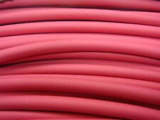 """3 ft+ 1/4"""" RED 2:1 Ratio Flexible Polyolefin Heat Shrink Tubing USA MADE"""