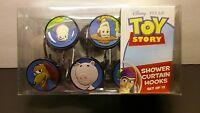 Lot 12 Disney Pixar Toy Story Shower Curtain Hooks Buzz Woody Rex Slinky Alien