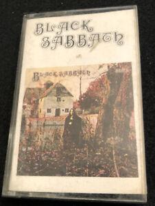 Black-Sabbath-Paper-Label-Cassette-Tape-NEC-6002-Vintage-Ozzy-Metal