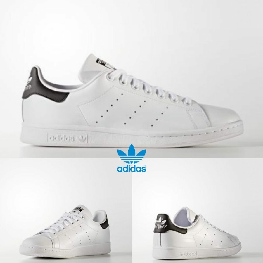 Adidas  Stan Smith Athletic Running Shoes White Black White AQ0438 Price reduction