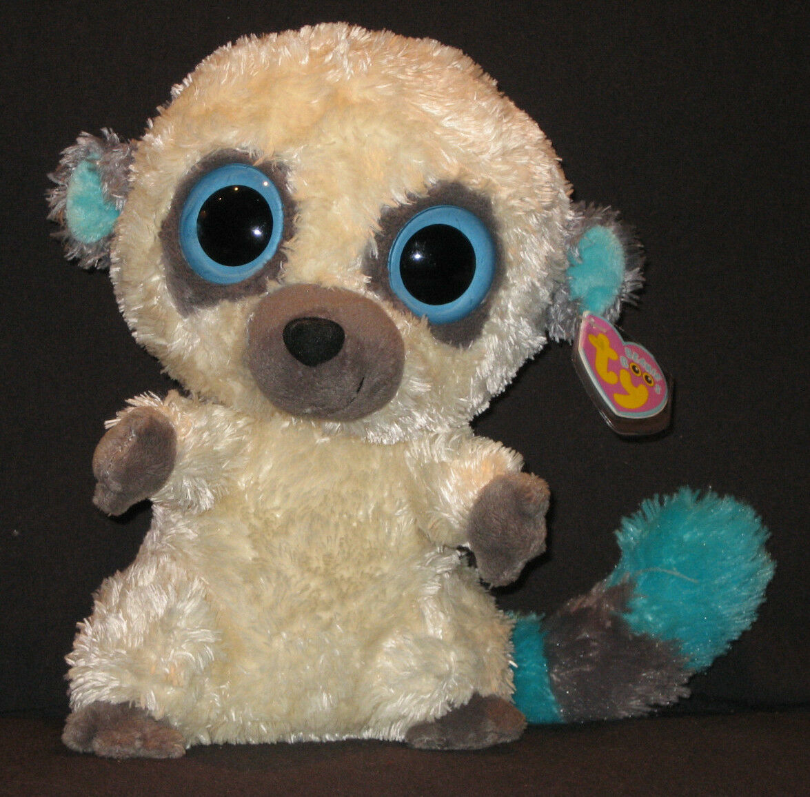 TY BEANIE BOOS - CLEO the 9  (MEDIUM) BUSHBABY - MINT with MINT TAGS