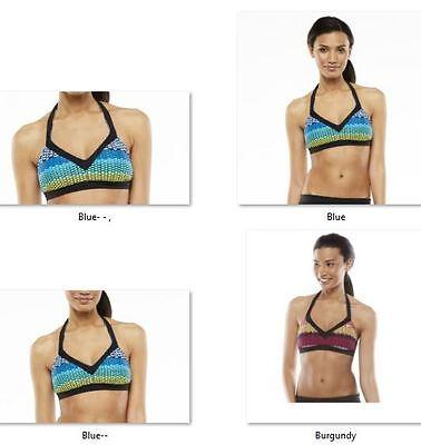 1fcd33045d919 NWT Women's Nike Bikini Beach Pool Top Bondi Bra Racerback Choose Size  Mozaic
