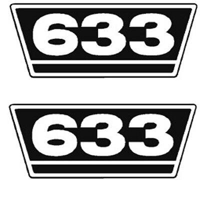 Beliebte Marke Ihc Traktor Aufkleber 2xtypenaufkleber 633 Logo Emblem Sticker Label Ca.21x9,5cm