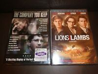 The Company You Keep W/dig Code To 12-31-16 & Lions For Lambs-2 Movies-r Redford